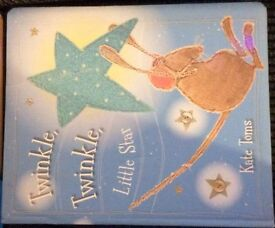 Twinkle Twinkle Little star Hardcover BOOK by Kate Toms For sale