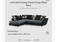 Corner sofa from sofology