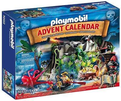 Playmobil Advent Calendar Pirate Cove Treasure Hunt Set