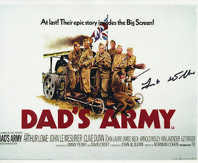 Frank Williams In Person Signed Poster Photo - Dad's Army - AG193