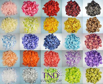 600 PCS FLOWER ROSE PETALS WEDDING PARTY TABLE DECORATION FLORAL - Artificial Rose Petals