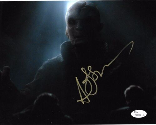 Andy Serkis Star Wars Autographed Signed 8x10 Photo JSA COA #S4