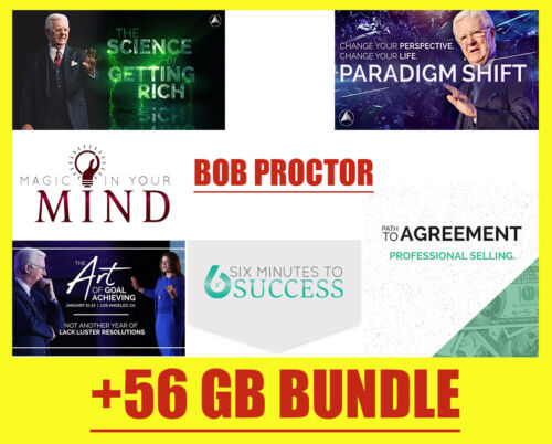 Bob Proctor - FULL COLLECTION - ( Best Courses !) 🔥