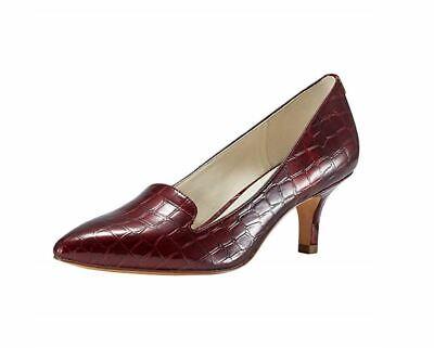 JENN ARDOR Women's Low Kitten Heel Pumps Pointed Toe Slip On Dress Party Office (Office Parties)