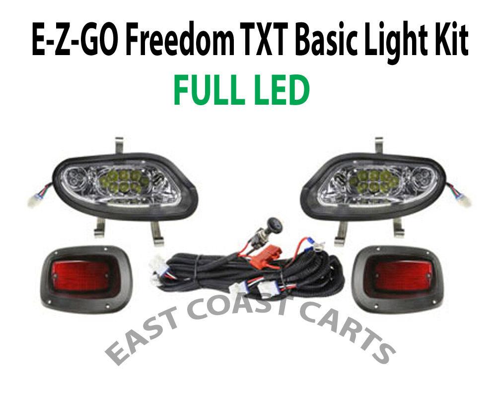 Ezgo Txt Valor Freedom 2014 Up Basic Light Kit Led