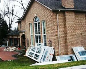 CUT MIDDLEMAN -- WINDOWS and DOORS -- QUALITY WORKMANSHIP -- Call Mark 24/7 Cell: 647-367-2428 --THE LOWEST PRICES