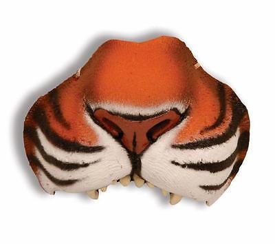 Tiger Nose Makeup (JUNGLE BENGAL TIGER CAT VINYL NOSE PROSTHETIC SCHOOL PLAY COSTUME MAKEUP)