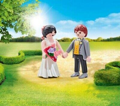 Playmobil novios boda novio y novia
