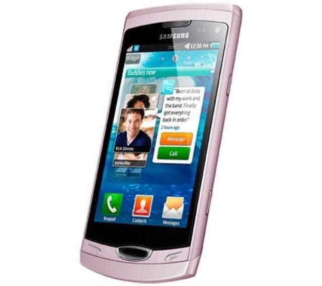 Samsung Wave S8530 II 2GB Pink (Ohne Simlock) Smartphone WLAN 3G GPS Wie NEU OVP