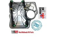 VW TRANSPORTER T5 FRONT LEFT WINDOW REGULATOR WITHOUT MOTOR WITH PANEL