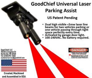 GoodChief Universal Laser Parking Assist - Auto Garage Sensor for Car Vehicle
