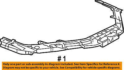 Dodge CHRYSLER OEM 08-14 Avenger-Radiator Core Support Bracket Panel 5116211AL