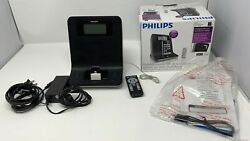 Philips wOOx Alarm Clock Radio, Dock and Remote for iPhone/iPod