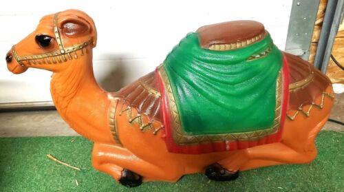 "Empire Blow mold Camel 27"" vintage yard decor Christmas"