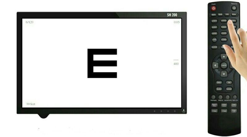 Digital visual acuity chart /Dell