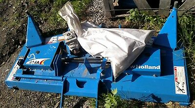 New Holland 914 A 57 Rear Discharge Belly Mower Deck W Parts