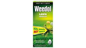 Weedol Lawn Weedkiller (Formerly VERDONE) Kills Weeds Not Grass 1L Concentrate