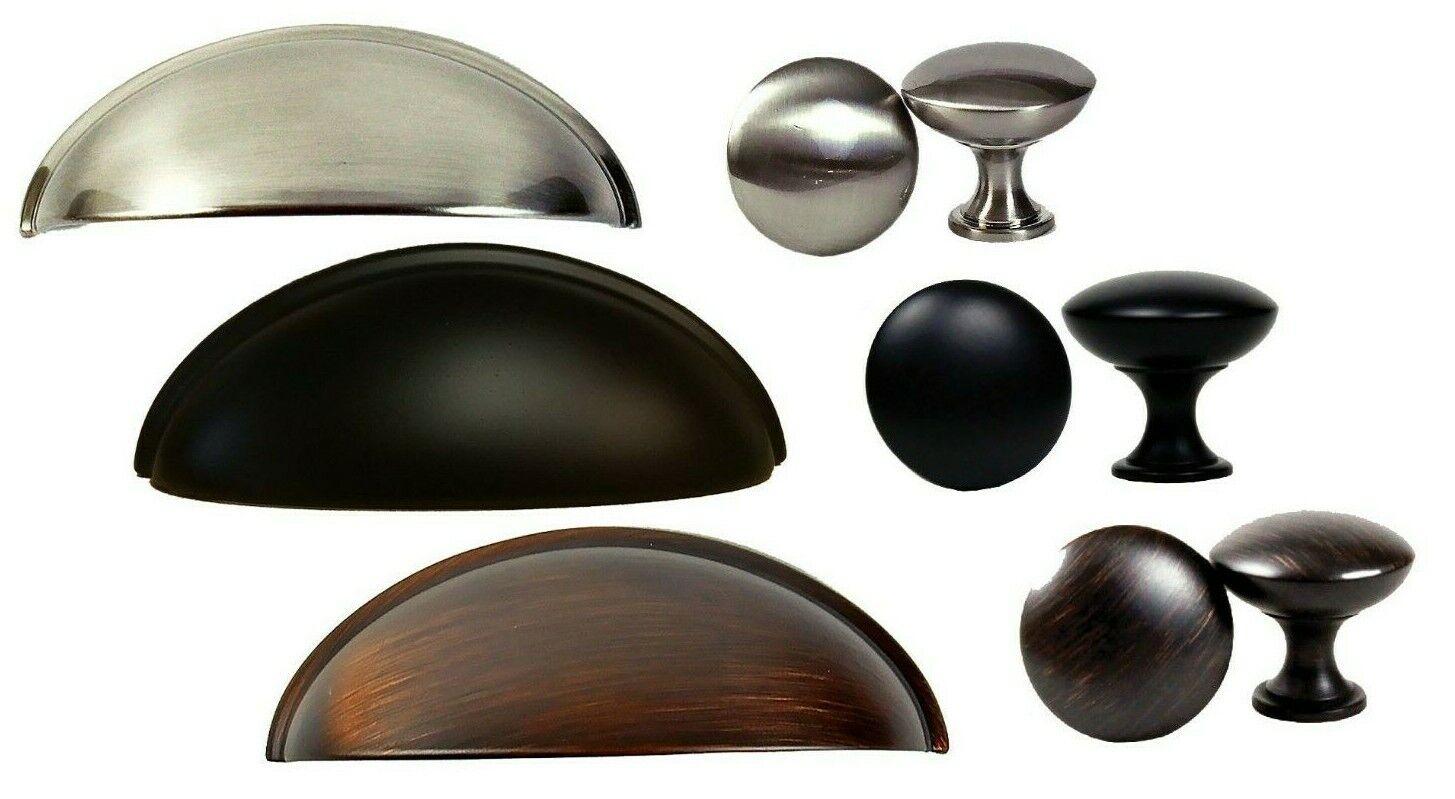 Lot of 26 Black Matt 255 mm Kitchen Cupboard Cabinet Pulls Handle AAE-455