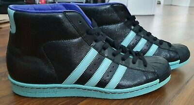 Adidas Pro Model Superstar UK 9 Metallic Leather - Very Rare - only pair on Ebay