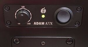 ADAM A3X A5 A5X A7 A7X A77XL A8X Studio Monitor Speaker Replacement Power Switch
