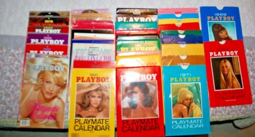 YOU PICK! 1960s, 1970s, 1980s, 1990s Playboy Calendars, all VG-LN condition
