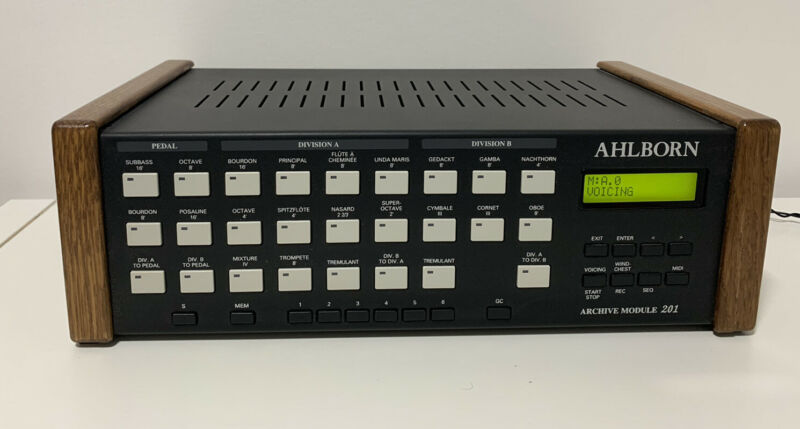 Ahlborn Archive 201 Module for Midi Organ or Keyboard