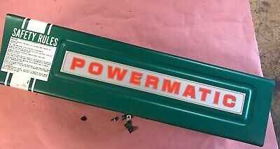 Powermatic Drill Press 1150a Pulley Motor Cover 1150