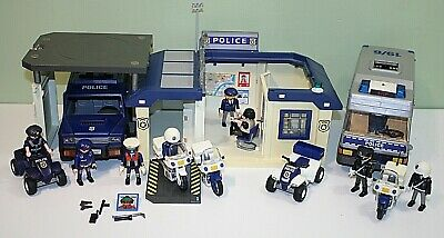 Playmobil Police Cops And Robbers Bundle Vehicles Figures Accessories Jail