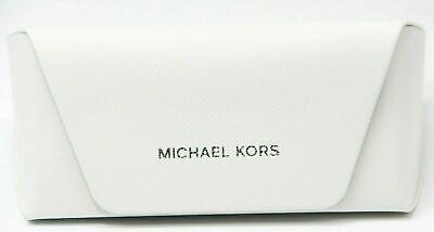 Michael Kors Eyeglasses Sunglasses White Case (Michael Kors Sunglass Case)