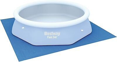 Bestway Ground Cloth Swimming Pool Floor Protector, 9x9ftSuitable for 8ft Pool