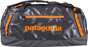 NEW PATAGONIA BLACK HOLE DUFFLE BAG 45 L NAWHAL GREY TRAVEL PACK WATERPROOF