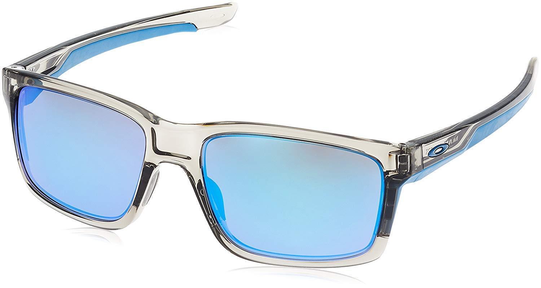 5e571e0efa4b7 Oakley Mainlink OO9264-03 Sunglasses Grey Ink Sapphire Iridium Lens 9264 03