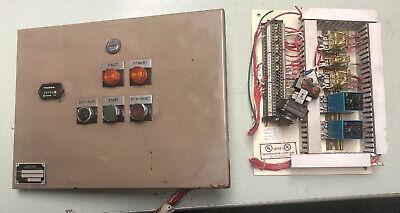 Leroi Compair Compressor Control Panel Cl25cub Ah Ser 44559x84 W A682527
