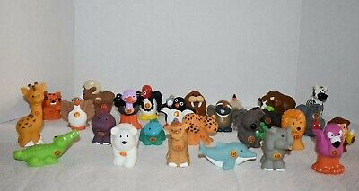 Fisher Price LP A to Z Learning Zoo Alphabet Animals - All 26 Figures - Complete