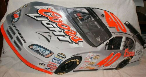 Nascar Coors Light David Stremme #40 Race Car Embossed Metal Sign 34X15 INCH