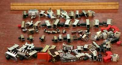 Lot Of Switches Electrical Slide Toggle Rocker Button Panel Onoff Soldier