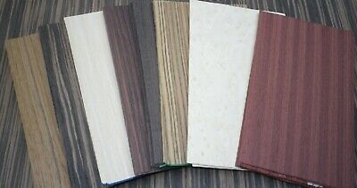 Mixed Exotic Common Wood Veneer Ebony Birdseye Burls And Etc.