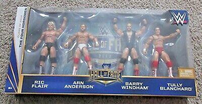 Elite Collection Set - WWE ELITE COLLECTION FOUR HORSEMEN SET WWF MATTEL WCW HALL OF FAME RIC FLAIR