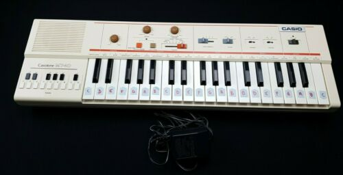 Casiotone MT-40 Vintage Keyboard Synthesizer with AC Adapter
