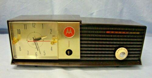 Mid Century Modern Motorola Clock Radio Model 57CD