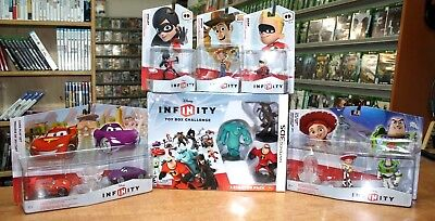 Nintendo 3DS Huge Disney Infinity Lot Starter Pack  & Characters Brand New