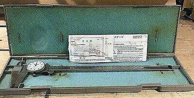 Mitutoyo Dial Caliper 0-12 Inch 505-645-50 Wcase