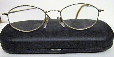 Marchon Flexon 602 Eye Glass RX Frames Light Bronze Women 49/18 135 + Hard Case