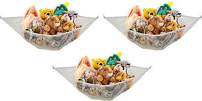 3 Pack JUMBO Toy Hammock Net 6' Organize Stuffed Animals & Kids Toys *FREE..