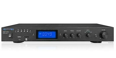 1000W PRO HOME DIGITAL STEREO MUSIC AUDIO INTEGRATED AMP AMPLIFIER RECEIVER NEW