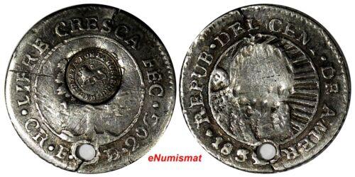 Costa Rica Silver 1850