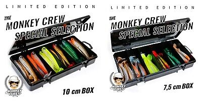 Monkey Lures 7,5cm oder 10cm King Lui Box Limited Edition Monkey Crew Special 7.5