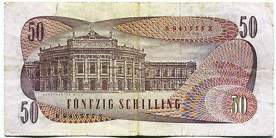 Österreich - Fünfzig 50 Schilling - 1970