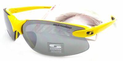 Sunwise Gafas de Sol Windrush + Intercambiable Lentes Amarillo/Montura Negra