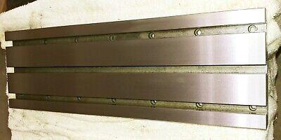 Intelitek Prolight Plm2000 Cnc Mill Parts T-slot Table J25t